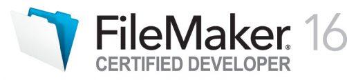 FileMaker 16 Certified Developer Logo